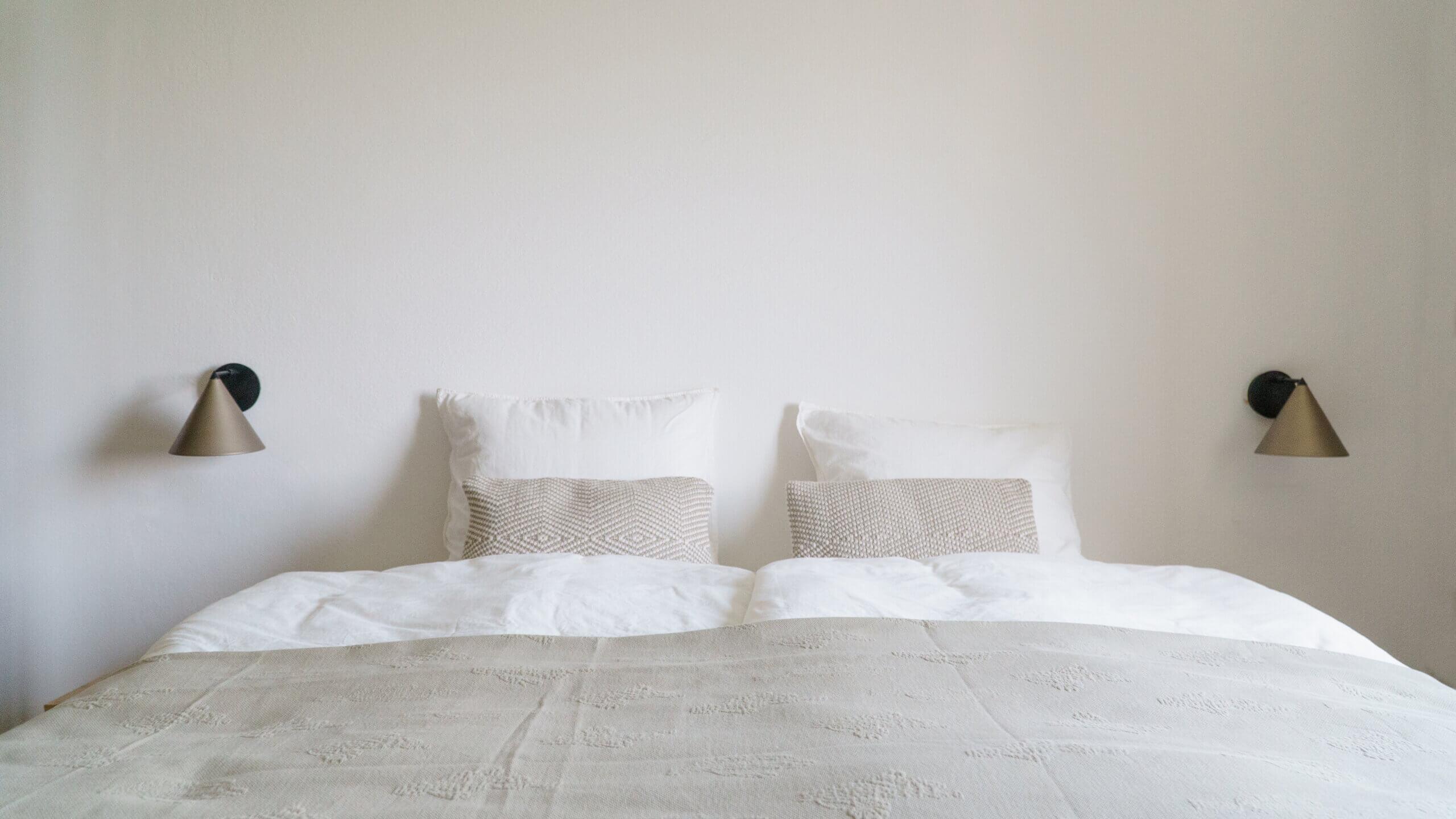 bedroom at franz&mathilde